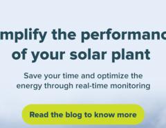 Enhancing Solar Power Plant Performance by Real-Time Monitoring - Mahindra Teqo