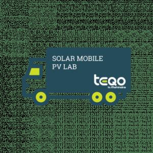 India's 1st Mobile PV Lab Health Diagnosis And Field - Mahindra Teqo